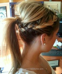 Great Fabulous Braided Ponytail Hairstyles for Medium Hair  The post  Fabulous Braided Ponytail Hairstyles for Medium Hair…  appeared first on  Haircuts and Hairstyles .