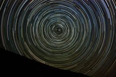 Star Trails Lake Sabrina, CA - Coachella Valley Astronomy and Astrophotography