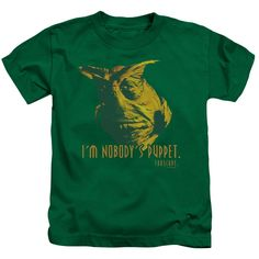"""Checkout our #LicensedGear products FREE SHIPPING + 10% OFF Coupon Code """"Official"""" Farscape / Nobodys Puppet-short Sleeve Juvenile 18 / 1-kelly Green-sm(4) - Farscape / Nobodys Puppet-short Sleeve Juvenile 18 / 1-kelly Green-sm(4) - Price: $24.99. Buy now at https://officiallylicensedgear.com/farscape-nobodys-puppet-short-sleeve-juvenile-18-1-kelly-green-sm-4"""