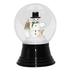 "Snowman with Bear Snow Globe by ALEXANDER TARON INC. $23.03. Elegant.. Classic design. Great for Home d¨¦cor. Snowman with Bear Snow Globe. Whether you are starting a snow globe collection or adding to it, these will be a great addition either way. Authentic Viennese handmade glass snow globe with Snowman holding Teddy Bear inside. Not suitable for children under 5 years old. Dimensions: 3"" L x 3"" W x 5"" H; 7.2 lbs."