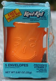 Kool-Aid mugs. Takes me back to my childhood at my Grandma's house