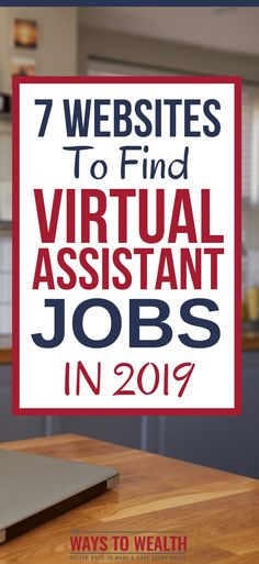 7 Websites To Find Virtual Assistant Jobs When You Have Little To No Experience What's the best website to find virtual assistant jobs? Here are the 7 top sites in 2019 plus tips on getting hired for your first job. Online Jobs From Home, Work From Home Jobs, Online Work, Make Money From Home, How To Make Money, How To Become, Virtual Assistant Services, Online Assistant, Marketing Program
