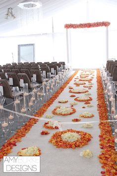 Modern and magical are the perfect words for this wedding ceremony! Cherry brandy rose petals are the most gorgeous color for a rose petal! Location St. Regis San Francisco CA #modernelegance