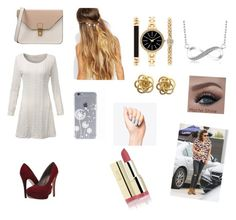 """""""Going out to Starbucks with Harry styles """" by cookiemonsterb ❤ liked on Polyvore featuring Michael Antonio, 8, Johnny Loves Rosie, Style & Co., Marc, women's clothing, women, female, woman and misses"""