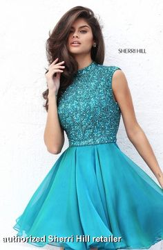 Sherri Hill Prom and Homecoming Dresses Sherri Hill 50690 Sherri Hill One Enchanted Evening - Designer Bridal, Pageant, Prom, Evening & Homecoming Gowns