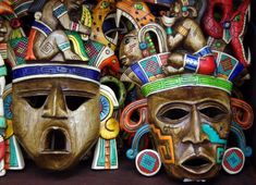 The expression of the native people's beliefs is through a ritual dance with the aid of intricate masks. The art of mask making is still thriving in Mexico; however, the purpose of wearing them shifted from ceremonial to a more commercial, decorative approach.  I'd love to help you plan your trip, so be sure to call me or send me an email when you're ready to start planning.  #yucatan #merida #mexicanpeninsula #visityucatan #mexicanritual #ritualdance #nativepeople #ceremonialmasks… Arts And Crafts Storage, Arts And Crafts For Teens, Art And Craft Videos, Arts And Crafts House, Crafts To Make And Sell, Hobbies And Crafts, Cozumel, Cancun, Toddler Crafts