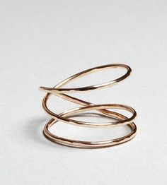 Gold Nest Ring