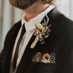 BUTTONHOLE F l o r a l S t y l i s t  (@pebbleanddot) Wedding Flowers, Fashion, Moda, Fashion Styles, Fashion Illustrations, Bridal Flowers