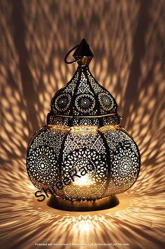 Moroccan Lantern Design  Vintage Decor Lamp Spectacular Play   Etsy