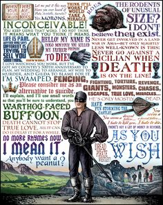 """Some of the best Princess Bride quotes.., if only it included """"Drop. Your. Sword"""""""