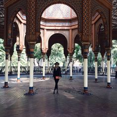 Kiosko morisco #Mexico #City #places #inlove #sunny #funny #days #ootd #Zara #BCBG #YSL #Céline #lifestyleblogger #fashionblogger #moalmada