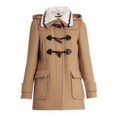 d4fde956aade Miu Miu Detachable-collar wool duffle coat (1 673 700 LBP) ❤ liked