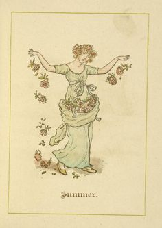 Artist: Kate Greenaway- GENRE Almanacs DATE ISSUED  1888
