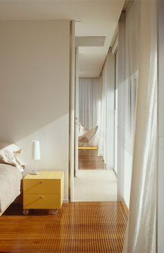 watson architecture + design: peninsula house.  curtains?