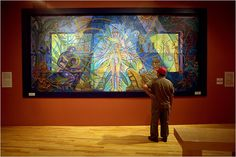 National Museum of Mexican Art Chicago, IL Mural by Mario Castillo