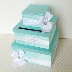 Tiffany Blue bousta box ~ on Etsy