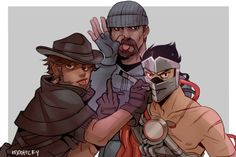 Gabe and his Blackwatch sons
