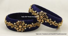 Price For Orders, Ping us In Whatsapp at 8754032250 We Ship to All Countries Silk Thread Bangles Design, Silk Thread Necklace, Silk Bangles, Thread Jewellery, Handmade Jewellery, Beaded Jewelry, Bangles Making, Silk Art, Jewelry Patterns