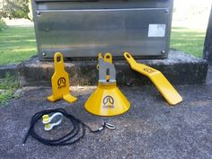 Platycat Snatcher lifting Products Range for Submersible Pumps.