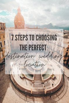 7 steps to follow to find your perfect destination wedding location!  How do you decide on a destination for something as momentous as your wedding? South of France? Italy? Or a Greek island? These 7 STEPS will help you nail choosing the destination that's right for YOU! Greece Wedding, Italy Wedding, Wedding Blog, Wedding Planner, Dream Wedding, Destination Wedding Locations, Wedding Venues, Getting Married In Italy, Next Holiday