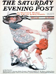 Dancing Children by Sarah Stilwell Weber, Nov. 15, 1919, The Saturday Evening Post.