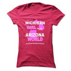 awesome Best price Michigan Girl In An Arizona World. Check more at http://favoriteman.info/best-price-michigan-girl-in-an-arizona-world/