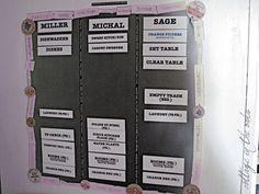 chore boards, chart idea, famili, bedrooms, magnetic boards, magnet boards, magnet chore, kid, chore charts