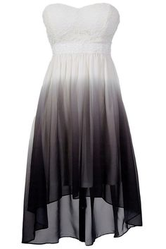 Would be awesome to dip dye a white dress like this