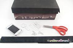Come creare un proiettore fatto in casa usando una scatola di cartone e vedere sul muro le foto e le immagini del tuo telefonino.