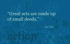 Do a good deed each day