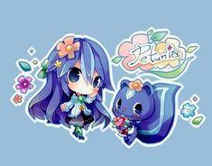 But these chibis are so cute Kawaii Chibi, Cute Chibi, Kawaii Cute, Kawaii Anime, Htf Anime, Anime Chibi, Anime Art, Cute Cartoon, Cartoon Art