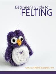 Image result for needle felting tutorial