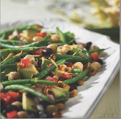Rose Reisman: Avocado and Charred Corn Salad with Lime Dressing Lime Dressing, Corn Salads, Healthy Salads, Green Beans, Avocado, Magazine, Vegetables, Rose, Recipes