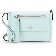 c16beaf837c Kate Spade New York Mini Toddy Leather Crossbody (170 AUD) ❤ liked on  Polyvore