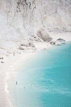White sand beaches in Greece