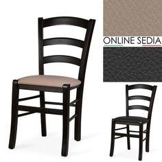 Sedia in legno colorata | sedie | Pinterest | Sedie nere, Sedie da ...