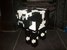 Lego Minecraft Custom Built Cow with Instructions Minecraft Activities, Minecraft Toys, Lego Games, Minecraft Stuff, Lego Stuff, Lego Animals, Lego Craft, Lego Room, Lego Projects
