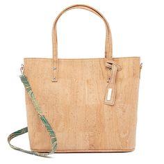Kork Handtasche «Estampado» von Artelusa – Natürliche Kork Mode Tote Bag, Bags, Fashion, Laptop Tote, Fanny Pack, Sustainable Fashion, Handbags, Leather, Moda