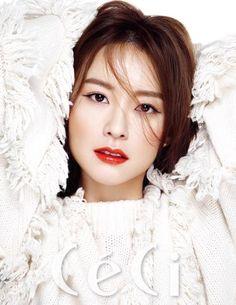 Jung Yumi Endorses Cosmetics Brand Benefit in Ceci Magazine | Koogle TV