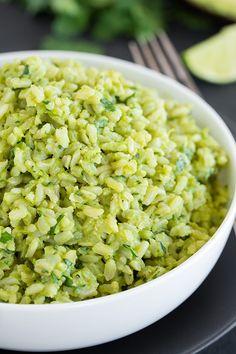 Avocado Cliantro Rice Salad