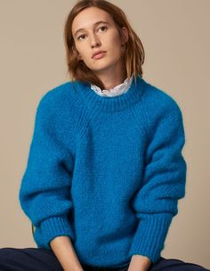 Discover the Sweaters & Cardigans for Woman on the official Sandro Paris e-shop. Men's Collection, Winter Collection, Sweater Cardigan, Men Sweater, Shops, Ootd, Trends, French Fashion, Cardigans For Women