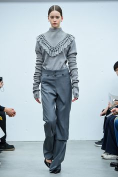 grey, alternative, tassel, high fashion, strange