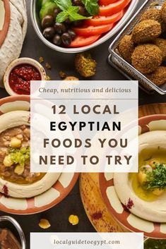 12 Egyptian foods you need to try -- they're cheap, nutritious and delicious. Egypt | Food | Koshary | Fuul | Taameya | Mahshi | Stuffed pigeons | Om Ali | Roz bi laban | Fattah | Kebab | Kofta | Shawarma | Molokheya | Local's Guide To Egypt