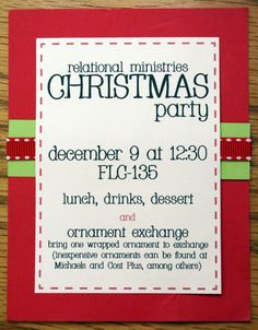 office holiday party invitation wording ideas