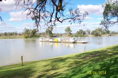 the Waikerie Ferry on the Murray River.........
