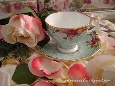 Beautiful teacup and saucer!