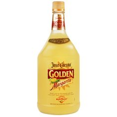 Made with Jose Cuervo Gold Tequila, Grand Marnier liqueur and lime, Jose Cuervo Golden Margarita is a premium-quality margarita that's ready-to-serve.