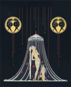 Helen of Troy  Artist: Erte  Style: Art Deco  Genre: mythological painting