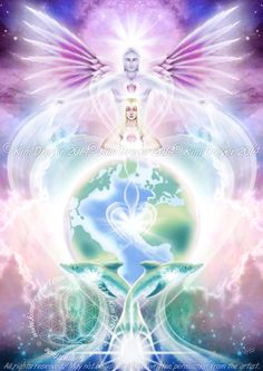 Universal Heart - Sacred Light Visions - The Art of Kim Dreyer