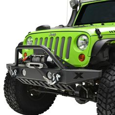 E-Autogrilles Black Front Bumper Jeep Wrangler JK Rock Crawler with OE Fog Light Hole & Winch Plate) Fit: jeep JK wrangler all models. Bumper w: h: … Jeep Wrangler Jk, Jeep Wrangler Bumpers, Jeep Jk, Jeep Wrangler Accessories, Jeep Accessories, 2016 Jeep, Jeep Parts, Performance Parts, 4x4